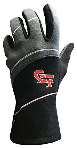- G-Force Men's G7 Racing Glove (Black, X-Large)
