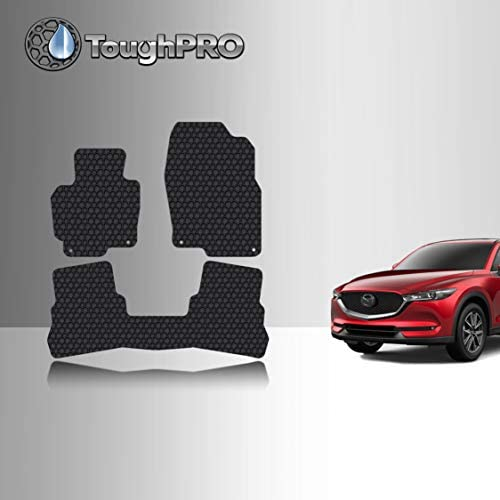 Cosilee Floor Mats Compatible for Mazda CX-5 2017-2019,All Weather Protector TPE Front /& Rear Row Floor Liners Slush Mat Liner Set