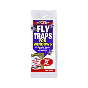 Stick-A-Fly Fly Trap For Windows