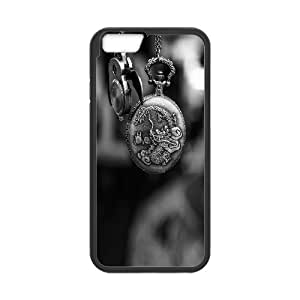 Iphone 6 Plus Case, time 6 Case for Iphone 6 Plus 5.5 screen Black tcj575156 tomchasejerry