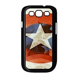 YUAHS(TM) Unique Phone Case for Samsung Galaxy S3 I9300 with Captain America YAS128823