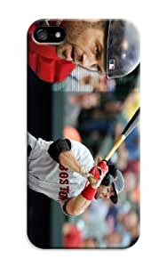 LarryToliver iphone 5/5s Design Just Do It Colorful Customizable Baseball Boston Red Sox Best PC Cover Case