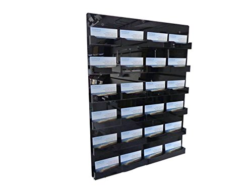 24 Pocket Wall Mount - 9