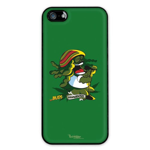 Diabloskinz H0081-0066-0052 Bong Marley Schutzhülle für Apple iPhone 5/5S