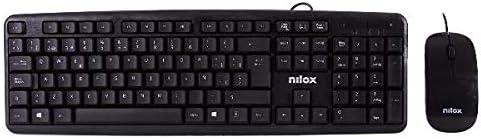 Nilox Bundle Teclado + Rat N Flat Usb Esp: Amazon.es: Electrónica