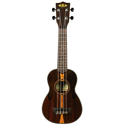 Kala Ziricote Soprano Ukulele - High Gloss by Kala