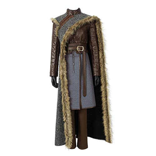 CosplayDiy Women's Suit for Game of Thrones Season IX Arya Stark Cosplay Costume M]()