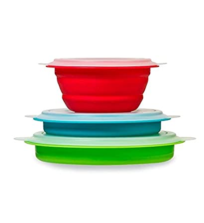 Collapsible Food Storage Containers Set of 3 by Progressive International  sc 1 st  Amazon.com & Amazon.com: Collapsible Food Storage Containers Set of 3 by ...