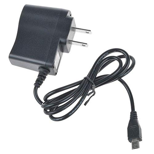 yan 1A AC Wall Charger Power Adapter for Cord Kurio Touch 4s Android Handheld Tablet (Kurio Touch 4s Android Black Handheld Tablet)