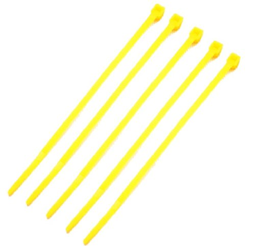 Absolute CT8100Y 8-Inch Cable Tie - 100 Pieces (Yellow)