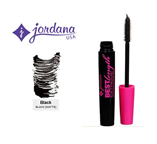 3 Pack Jordana Cosmetics Best Length Extreme Lengthening Mascara 303 Black