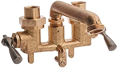 Gerber Plumbing G0049530 Classics Two Handle Clamp-on Combination Laundry faucet