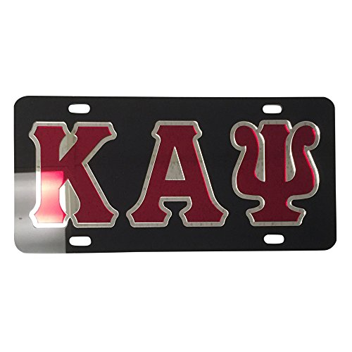 Desert Cactus Kappa Alpha Psi License Plate Car Tag for Front Back of Car Divine 9 (Car Tag - 2206)