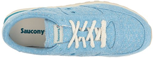 Saucony Damen Jazz Original Niedrige Sneaker, Grau Blu (Light Blue)