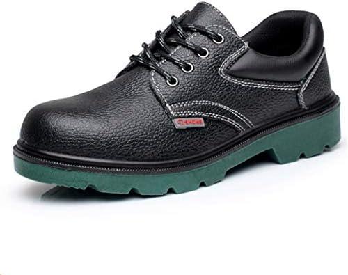 安全靴 革靴 メンズ ビジネスシューズ 防滑 厨房シューズ 調理靴 作業靴 ウォーキングシューズ 防水 防油 つま先保護 超軽量 キッチンシューズ ワークシューズ 本革 紳士靴 刺す叩く防止 大きいサイズ 23cm-28cm