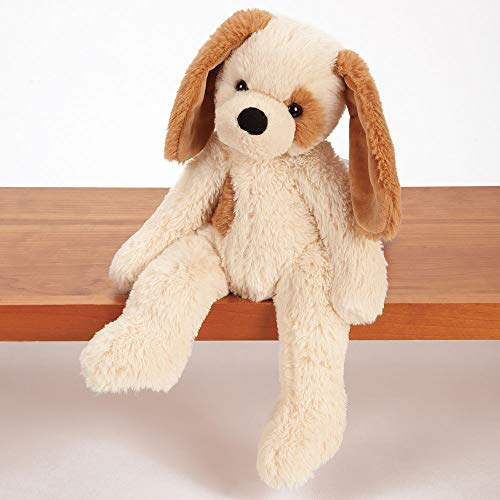 Vermont Teddy Bear Soft Puppy - Soft Puppy Dog Stuffed Animal, Plush Toy for Kids, Brown, 15 inches (Bear Teddy Puppy Love)