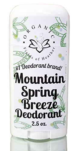 Organic Deodorant | MT. SPRING BREEZE SCENT | Healthy Botanically Infused Ingredients | 2.5 oz