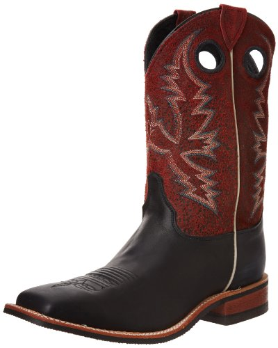 Red Crackle Justin Chester Black BR311 tfwxtq8SO