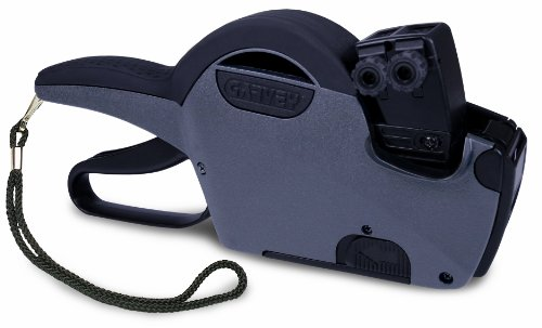 Garvey 22-66 Digit Double Line, Price Marking Gun Date Code Labeler, Compatible to 22 x 16 mm Labels (22-66/G2216-66003) (Price Gun Double Line compare prices)