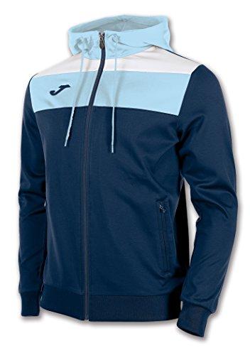 JOMA JACKET CREW HOODED Uniforms MANTEAU VESTE HOMMES NAVY-SKY BLUE 8XS