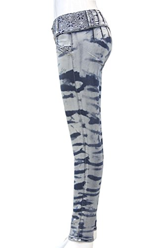 gris XS Jeans talla Push 48 34 con Gris elásticos mujer Pantalones colombiano de Levanta up XXXL ZARINA®Denim vaqueros Pantalones color vaqueros con 1157 cola azul qFZBwWqp