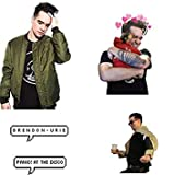 """Brendon Urie Sticker Set 50 Pack 1"""" Stickers for"""