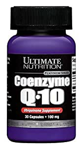 ULTIMATE NUTRITION COENZYME Q10 30 CAPS, Bottle
