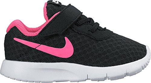 NIKE Girl's Tanjun Shoe Black/Hyper Pink/White Size 5 M US