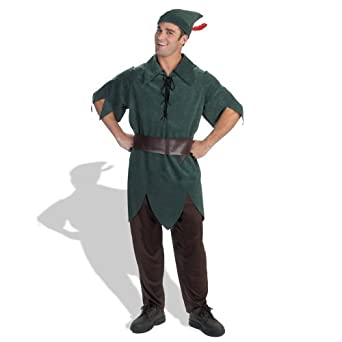 Amazon disney adult peter pan costume x large 42 46 clothing disney adult peter pan costume x large 42 46 solutioingenieria Image collections