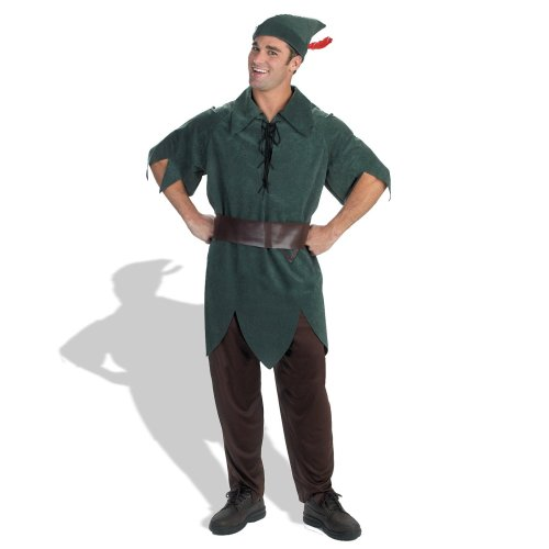 Disney Adult Peter Pan Costume X-Large (42-46),