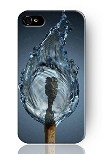 SPRAWL@ DESIGN Beauty Design phone case Hard Back Shell Cover for IPHONE 5 5G 5S --Water polo