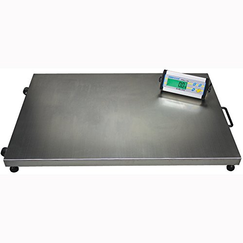 Adam Equipment CPWplus 200L Large Platform Floor Scale, 440lb/200kg Capacity, 0.1lb/50g Readability (Platform Industrial)