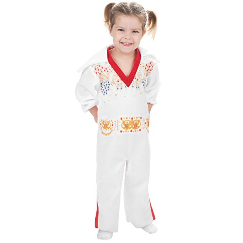Rubie's Costume Elvis Presley Toddler White Jumpsuit