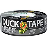 Duck Max Strength 240201 Duct Tape, 1-Pack 1.88 Inch x 45 Yard Silver