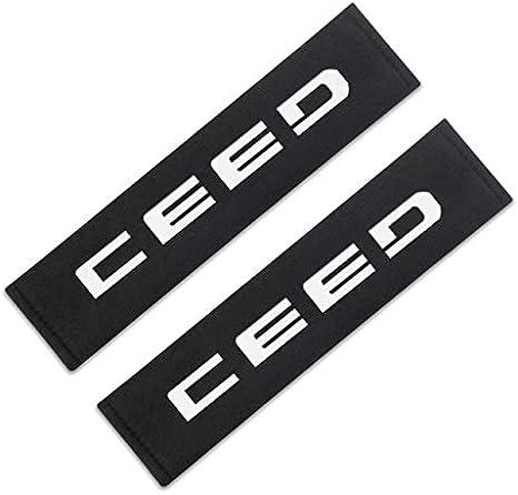 Mlzaq Seggiolino Auto Car Cover Cintura Styling for KIA Sportage Accessori Ceed Kia Sorento 2017 2018 Car Styling Color Name : CEED