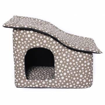 Techo de tela suave lunares mascota perro gato casa: Amazon.es: Productos para mascotas