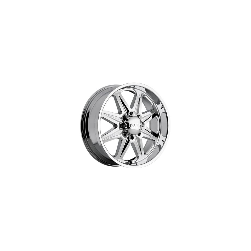 Incubus Grim 22x9 Chrome Wheel / Rim 8x170 with a 25mm Offset and a 130.80 Hub Bore. Partnumber 505090867+25C