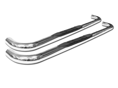 """Velocity Concepts 3"""" Chrome Side Step Bars 