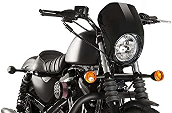 Customaccess AZ1103N T/ête de Fourche Mod/èle Anarchy Noir Customacces f/ür Harley Davidson Sportster 883 Iron 09