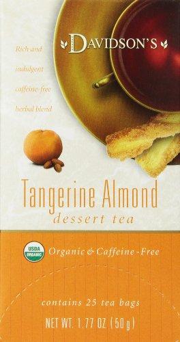 Dessert Merchandiser (Davidson's Tea Tangerine Almond, 25-Count Tea Bags (Pack of 6))