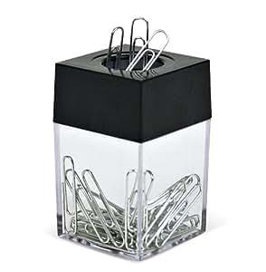ACCO Magnetic Paper Clips-dispenser Black (5050572351)