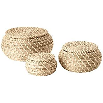 small trinket bowl hand woven basket with decorative cross.htm amazon com mode home golden leather kitchen storage boxes fashion  golden leather kitchen storage boxes