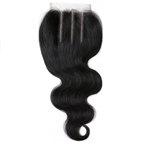 Free Queen 8A Brazilian Virgin Hair 3 Bundles with Closure Body Wave 100% Unprocessed Human Hair Weave With Lace Closure … (18'' 20'' 22''+16''closure, Three Part) by Free Queen (Image #7)