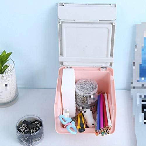 Flip Desktop Multifunktionaler Schreibtisch Staubfester Schreibtisch (Empfangsbox) Khaki (Curry)