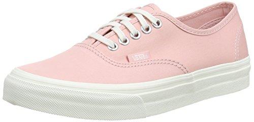 Vans Authentic Slim Brushed Twill Peachskin/Blanc de Blanc Skate Shoes (Women 6 / Men 4.5)