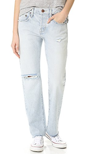 Current/Elliott Women's The Crossover Jeans, Mulholland Destroy & Cut Hem, 26