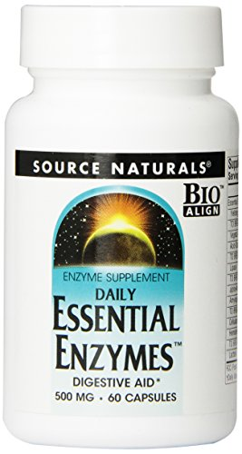 Source Naturals Essential Enzymes, 500mg, 60 capsules
