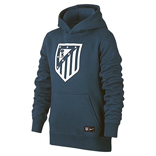 fan products of 2017-2018 Atletico Madrid Nike OTH Hoody (Space Blue) - Kids