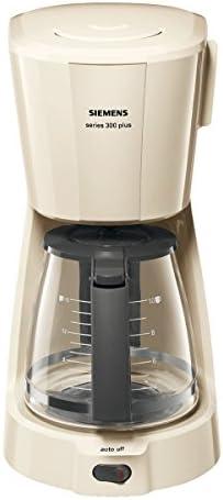 Siemens TC3A0307 Series 300 Plus - Cafetera de goteo, color crema ...