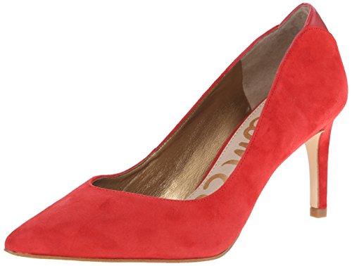 Women's Edelman Pumps Toe Desert Red Sam Closed Orella qEXnw